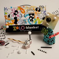 ערכת יצירה לצביעה ועיצוב אישי ZoLO Blanco